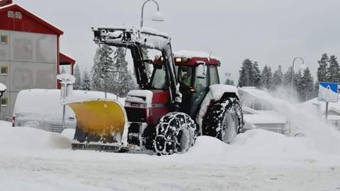 Vintervedlikehold av veg