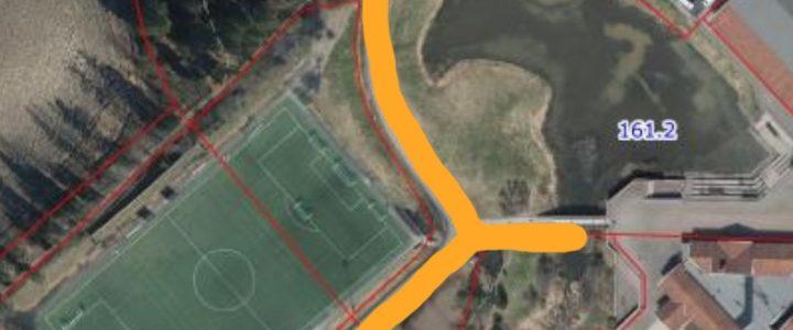 Utbedring av veilys idrettsparken